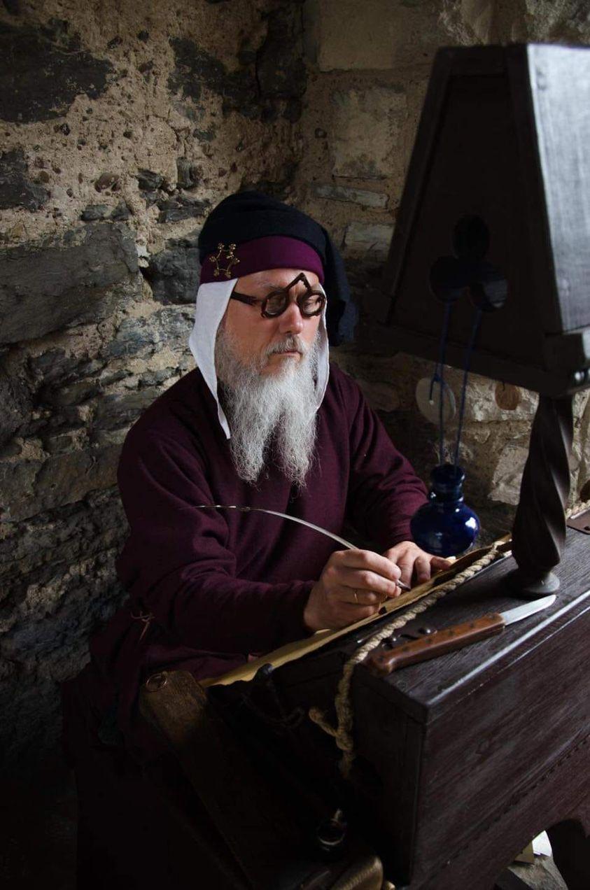 Майстер-клас «Скрипторій» від Дмитра Чубія