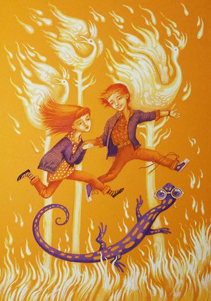 Презентація повісті «Вогняна казка»